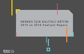 Faaliyet Raporu 2015 ve 2016 Yayımlandı