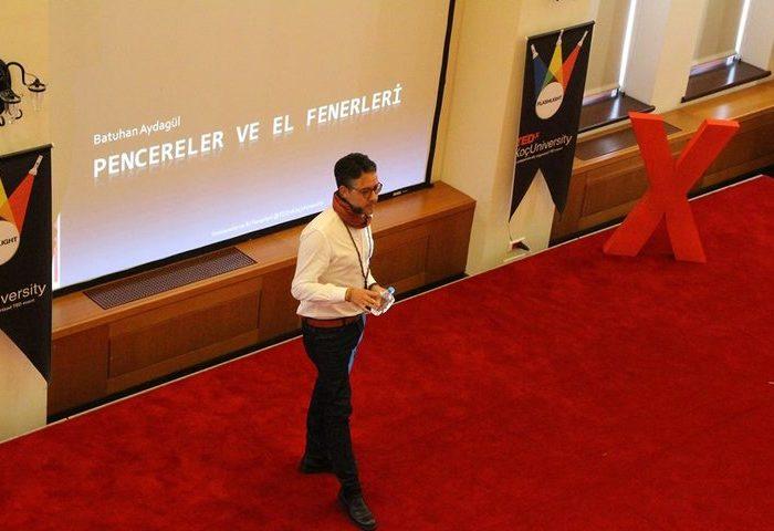 Süpermen'in TEDxKoçUniversity Buluşması