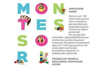 Anaokulu Öğretmenlerine Yönelik Montessori Eğitimi Duyurusu