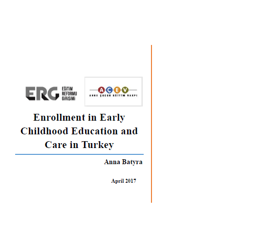Enrollment in Early Childhood Education and Care in Turkey