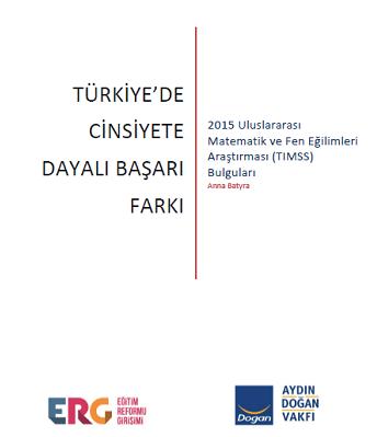Türkiye'de Cinsiyete Dayalı Başarı Farkı: TIMSS 2015 Bulguları