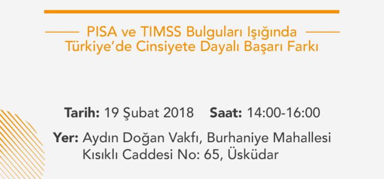 20. EPS: PISA ve TIMSS Bulguları Işığında Türkiye'de Cinsiyete Bağlı Başarı Farkı