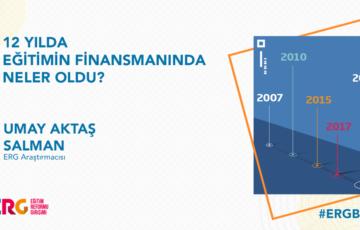 12 Yılda Eğitimin Finansmanında Neler Oldu?