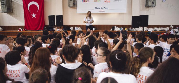 Hareket Okulda Projesinin Buluşma Etkinliği Gerçekleşti