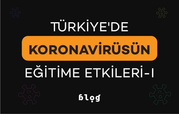 Türkiye'de Koronavirüsün Eğitime Etkileri – I